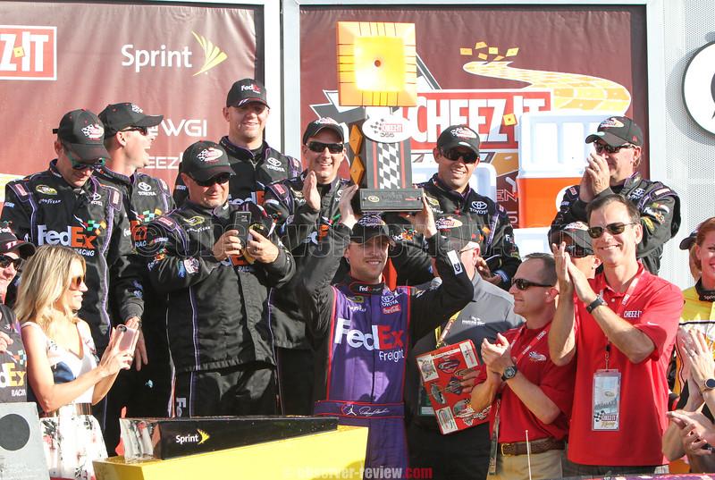 NASCAR racing action from Watkins Glen International, Sunday, Aug. 7, 2016.