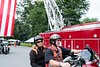 Colin Young leads the pack at the 10th annual Ride for Heroes; KELLY FLETCHER, REFORMER CORRESPONDENT