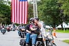 Riders leave the Brattleboro Retreat to start the Ride for Heroes; KELLY FLETCHER, REFORMER CORRESPONDENT