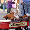 "Adelyn Edge, 2, of Fort Collins, sits in her red wagon while holding her teddy-bear during the Rocky Mountain Folks Festival on Friday, Aug. 13, at the Planet Bluegrass Ranch in Lyons.<br /> Jeremy Papasso/ Camera<br /> <br /> For photo gallery and video go to  <a href=""http://www.dailycamera.com"">http://www.dailycamera.com</a>"