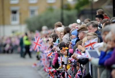The Queen, Duke Of Edinburgh, Prince Of Wales & Duchess Of Cornwall Visit Poundbury, DORCHESTER, ENGLAND