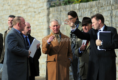 Prince Charles visits 'The House of Dorchester' to open their new warehouse extension at Poundbury, DORCHESTER, ENGLAND