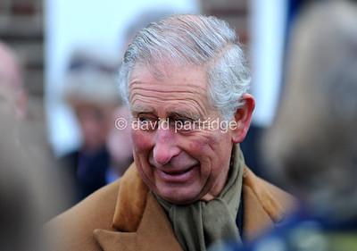 Prince Charles visits new developments at Poundbury, DORCHESTER, ENGLAND