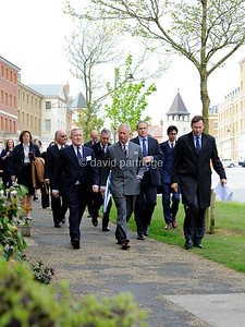 Prince Charles visit for official opening of Poundbury Cancer Institute, DORCHESTER, ENGLAND