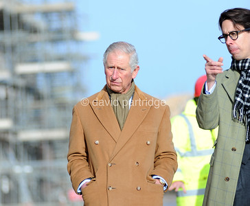 Prince Charles visits new developments at Poundbury, DORCHESTER, ENGLAND