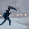 "A pedestrian cross Arapahoe Ave in Boulder on Sunday in the snow.<br />  For more photos and a video of the current storm, go to  <a href=""http://www.dailycamera.com"">http://www.dailycamera.com</a>. <br />  Cliff Grassmick  / February 24, 2013"