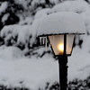"A street light on Avon Lane in Longmont collects snow from the latest storm on Friday.<br /> For more photos of the snow, go to  <a href=""http://www.dailycamera.com"">http://www.dailycamera.com</a>.<br /> February 3, 2012 / Cliff Grassmick"