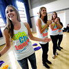 "Sorority member Bri Morris, left,  sings a sorority song in the Glenn Miller Ballroom on the CU Boulder Campus Wednesdy evening on Sorority Bid Day. FOR MORE PHOTOS AND A VIDEO OF BID DAY GO TO  <a href=""http://WWW.DAILYCAMERA.COM"">http://WWW.DAILYCAMERA.COM</a><br /> Photo by Paul Aiken / The Camera / September 7, 2011"