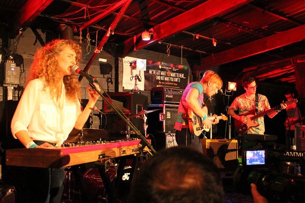 Tennis at South By Southwest Music Festival.<br /> March 13-18, 2012, Austin.<br /> Ashley Dean / Colorado Daily