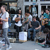 Street musicians at South By Southwest Music Festival.<br /> March 13-18, 2012, Austin. <br /> Ashley Dean / Colorado Daily