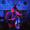 Ian Cooke performs at Peckerheads during South By Southwest Music Festival.<br /> March 13-18, 2012, Austin. <br /> Ashley Dean / Colorado Daily