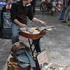 A street musician at South By Southwest Music South By Southwest, SXSW, 646Festival.<br /> March 13-18, 2012, Austin. <br /> Ashley Dean / Colorado Daily