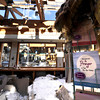 "A few greeting cards remain unscathed in the St. Malo Retreat Center's gift shop as sunshine streams through what used to be the roof of the building. The center's mainlodge caught fire, starting in the ceiling, on November 14.<br /> For more photos go to  <a href=""http://www.dailycamera.com"">http://www.dailycamera.com</a><br /> Photo by Walt Hester 