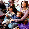 "From left to right Zoey, 3, Tyler, 2 and their mother Melissa Perrine listen to Melanie Howard read children's books during Storytime for Kids at the Boulder Public Library Main Branch on Wednesday November 24, 2010.<br /> For more photos and a video of Storytime go to  <a href=""http://www.dailycamera.com"">http://www.dailycamera.com</a>"