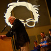 KRISTOPHER RADDER — BRATTLEBORO REFORMER<br /> Democratic presidential candidate Sen. Bernie Sanders, I-Vt., returns back to New Hampshire for the first time since his heart attack to speak to a crowd at Keene State College, in Keene, N.H., during a campaign event on Wednesday, Oct. 30, 2019. Sanders talked about eliminating student loan debt, private prisons, and continued to talk about his Medicare for All plan.