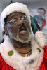 A man sing at Escola de Papai Noel (Santa Claus school), Rio de Janeiro, Brazil, October 25, 2011. The students learn to sing, relations with childs, how to dress. (Austral Foto/Renzo Gostoli)
