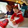 KRISTOPHER RADDER — BRATTLEBORO REFORMER<br /> Nearly 1,300 people rode the Santa Express in Bellows Falls to the North Pole (Chester, Vt.) on Sunday, Nov. 18, 2018. The charity train ride helped out the Bellows Falls Middle School Band and Destination Imagination.
