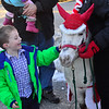 KRISTOPHER RADDER — BRATTLEBORO REFORMER<br /> Newfane Anew puts on the annual Winterfest that celebrates the arrival of Santa Claus on Sunday, Dec. 9, 2018, to Union Hall, in Newfane. With help from Mary Meyer Stuffed Toys, Santa was able to hand out 100 toys to the young boys and girls.