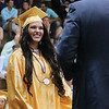 LYNNE ZEHR | THE GOSHEN NEWS Fairfield senior Brooke Ritter receives her diploma Sunday.