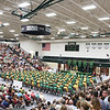 JULIE CROTHERS BEER | THE GOSHEN NEWS<br /> Hundreds filled the Wawasee High School gym Sunday in celebration of the class of 2016.
