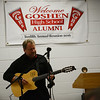 HALEY WARD | THE GOSHEN NEWS<br /> Bryan Lubeck, GHS class of 1985, plays guitar during the Goshen High School Alumni Reunion on Sept. 1 at the Elkhart County 4-H Fairgrounds.
