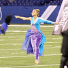 SAM HOUSEHOLDER | THE GOSHEN NEWS<br /> Fairfield sophmore Talitha Nisley performs with the Fairfield Marching Band during the ISSMA State Band Finals in Indianapolis Saturday.