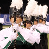 Concord Haley Picking, a sophomore, stands with the Marching Minutemen before their performance in indianapolis Saturday.