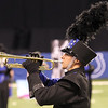 Fairfield senior Aaron Gross plays a solo during the ISSMA State Band Finals Saturday in Indianapolis.