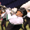 Concord senior Johnny Bennett plays a solo during the band's performance at State Band Finals.