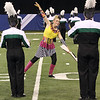 Concord junior Maria Paritz performs with the marching band at the state finals Saturday.
