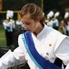 Jennifer Meier | The Goshen News<br /> Lauren Jennings, a freshman, plays the xylophone during the Northridge High School band's performance Saturday.