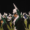 SAM HOUSEHOLDER | THE GOSHEN NEWS<br /> Concord senior Andrew Lynch performs with the Marching Minutemen Saturday at the ISSMA State Band Finals.
