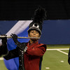 SAM HOUSEHOLDER | THE GOSHEN NEWS<br /> NorthWood freshman Kiara Guillen plays during the ISSMA State Marching Band Finals in Indianapolis Saturday.