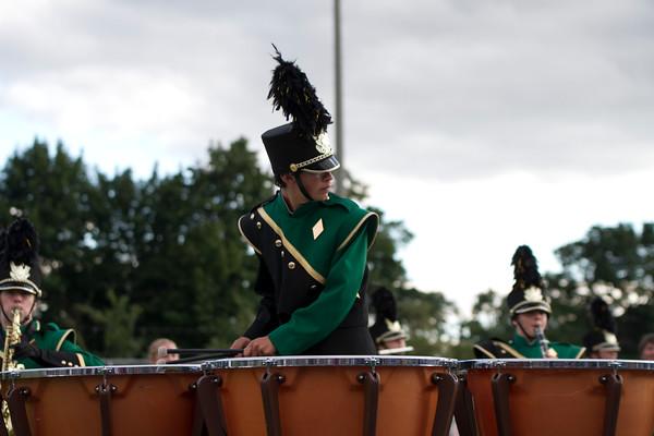 Drummer Marcus Gagyer, junior