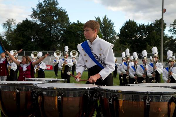 Keenan Story, eighth grade, drums