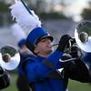 Zach Mairle, freshman, mellophone