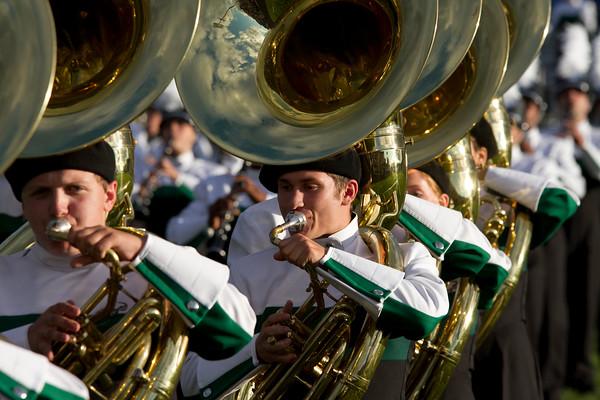 David Perez, sophomore, sousaphone