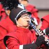 SHERYL SCHRAMEYER | THE GOSHEN NEWS<br /> Hailey Hess plays the clarinet Saturday night at Fort Wayne Northrop.