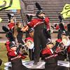 SHERYL SCHRAMEYER | THE GOSHEN NEWS<br /> Members of the Goshen marching band perform at Fort Wayne Northrop Saturday night.