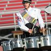 Northridge drummer Caleb Howenstine performs Saturday.