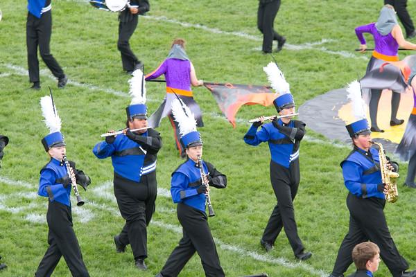 Clarinet, center, Fairfield Grace Leer.