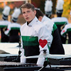STACEY DIAMOND | THE GOSHEN NEWS<br /> Gavin Wainwright of Concord High School's Marching Minutemen performs Saturday during the Class B semistate contest.