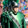 STACEY DIAMOND | THE GOSHEN NEWS<br /> Amy Thomas of the Northridge Raider Band performs Saturday during the Class B semistate competition.