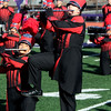PHOTO CONTRIBUTED | PHOTOGRAPHY BY BATEMAN<br /> Members of Goshen High School's Crimson Marching Band perform Saturday during the Class A semistate competition.