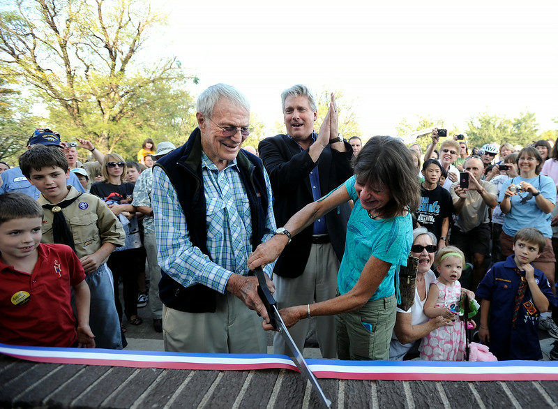 Scott Carpenter Park Re-dedication