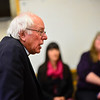 KRISTOPHER RADDER - BRATTLEBORO REFORMER <br /> United States Sen. Bernie Sanders talks about the importance of early childhood education and the need for childcare while visiting Brattleboro Town School District's Early Education Services, in Brattleboro, Vt., on Friday, Jan. 26, 2018.