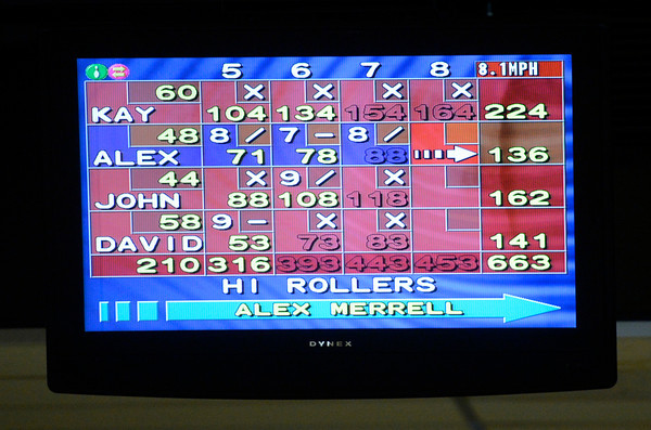 "Impressive scores on the board during a senior bowling league on Monday, Oct. 15, at Chipper Lanes in Broomfield. For more photos and video of the bowling league go to  <a href=""http://www.dailycamera.com"">http://www.dailycamera.com</a><br />  Jeremy Papasso/ Camera"