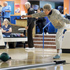 "Mary Alice Bissell, 91, of Broomfield, shows her skills during a senior bowling league on Monday, Oct. 15, at Chipper Lanes in Broomfield. For more photos and video of the bowling league go to  <a href=""http://www.dailycamera.com"">http://www.dailycamera.com</a><br />  Jeremy Papasso/ Camera"