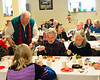 KRISTOPHER RADDER - BRATTLEBORO REFORMER<br /> People fill up the Senior Center at the Gibson Atkins Center for the Seniors Holiday Dinner that was sponsored by U.S. Senator Bernie Sanders on Thursday, Dec. 15, 2016.