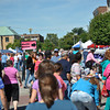 Photo by Taylor Burris/For The Lebanon Reporter<br /> The streets around the courthouse square were crowded Saturday for the Back to the Fifties Festival.
